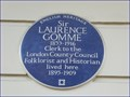 Image for Sir Laurence Gomme - Dorset Square, London, UK