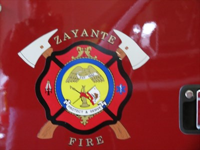 Zayante Fire Logo, Felton, CA