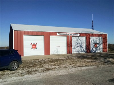 Washburn Fire Dept. Station #2, by MountainWoods.  Much nicer than the old signage!