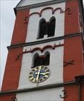 Image for Uhr an der St. Viktor Kirche Oberbreisig - Bad Breisig - RLP - Germany