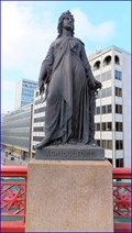 "Image for ""Agriculture"" Statue - Holborn Viaduct, London, UK"