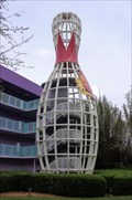 Image for Giant Bowling Pin - Satellite Oddity - Lake Buena Vista, Florida, USA