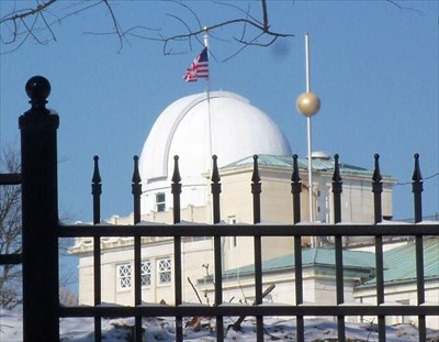 US Naval Observatory Time Ball - Washington D C  USA - Time
