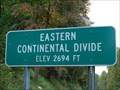 Image for Eastern Continental Divide, North Carolina - 2694 feet