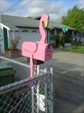 Image for California Flamingo Mailbox, Fremont CA