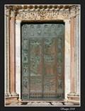 Image for Porta della Riconoscenza (Gate of Gratitude) of Siena Cathedral - Siena, Italy
