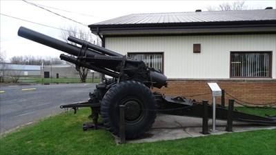 Obusier,155mm Howitzer M114-Waterloo-Québec,Canada
