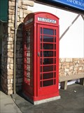 Image for Lake County Visitors Center Red Phone Box - Lucerne, CA