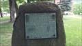 Image for Gettysburg Address sign - Naples, NY