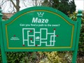 Image for Swan Maze - Queens Park - Loughborough, Leicestershire