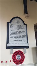 Image for Memorial Tablet - St Denys - Eaton, Leicestershire