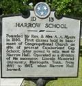 Image for Harrow School Historical Marker - Cumberland Gap, TN