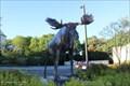 Image for The Challenger, Moose Sculpture - Hampton Inn - Freeport, ME