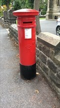 Image for Victorian Pillar Box - Trinity Road, Harrogate, Yorkshire, UK