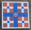 Image for Quilt block at Rush Strong School - Strawberry Plains,TN