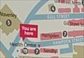 Image for You Are Here - Nottingham Trent University, Hampden Street (W) - Nottingham, Nottinghamshire