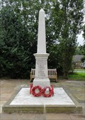 Image for Combined World War I And World War II Memorial – Fairburn, UK