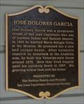 Image for Jose Dolores Garcia  -  San Juan Capistrano, CA