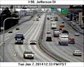 Image for I-90 at Jefferson Street Webcam - Spokane, WA