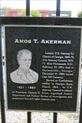 Image for Amos T. Akerman - Cartersville, GA