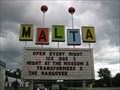 Image for Malta Drive-In Sign