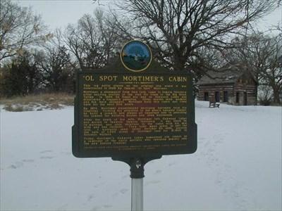 The maker for ol Spot Mortimers Cabin