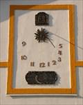 Image for Rural Sundial in Dubany, Czech Republic