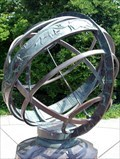 Image for Signs of Zodiac - Armillary sphere, Brooklyn Botanic Garden - New York, New York, US of A