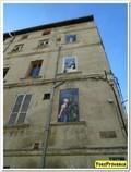 Image for Les fenêtres peintes - Rue Fayard - Avignon, France
