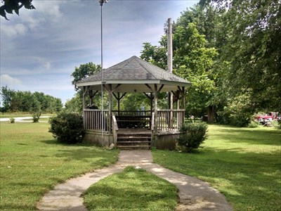 Gazebo at Wentworth Town Park, by MountainWoods