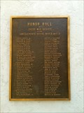 Image for Honor Roll - San Clemente, CA