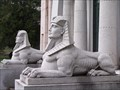 Image for The Dodge Mausoleum Sphinx's - Woodlawn Cemetery - Detroit Michigan