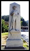 Image for John Mullan Statue — Wallace, ID