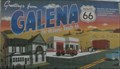 Image for Historic Route 66 - Mural - Galena, Kansas, USA.