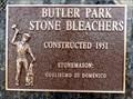 Image for Butler Park Stone Bleachers - 1951 - Trail, BC