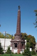 Image for Knox County Civil War Memorial, Vincennes, Indiana.