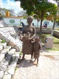 Image for Mayan Woman and Child - San Miguel de Cozumel, Quintana Roo, Mexico
