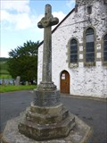 Image for Talley War Memorial cross - Carmarthenshire, Wales, Great Britain