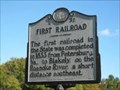 Image for First Railroad   ---  E-32