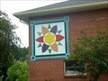 Image for A Colourful Sun Barn Quilt - Exeter, Ontario