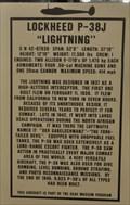 "Image for First Operational Flight of Lockheed P-38J ""Lightning"""