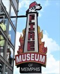 Image for Fire Museum - Artistic Neon - Memphis, Tennessee, USA.