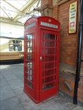 Image for Red Telephone Box - Great Central Railway - Loughborough, Leicestershire