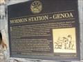 "Image for ""Mormon Station - Genoa"" - Genoa, NV"
