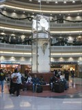 Image for Atrium Clock - Atlanta International Airport, GA