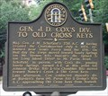Image for Gen. J. D. Cox's Div. To Old Cross Keys - GHM 060-12 - Sandy Springs, Fulton Co., Ga