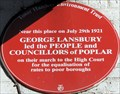 Image for George Lansbury - East India Dock Road, London, UK