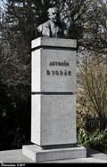 Image for 2055 Dvorak & Antonín Dvorák bust in Horejší Obora park - Príbram (Central Bohemia)