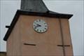 Image for Pink Tower Clock - Pont du Château - Puy de Dôme - France