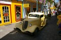 Image for Old Car  in an  island shopping area